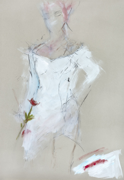 Woman in Rose