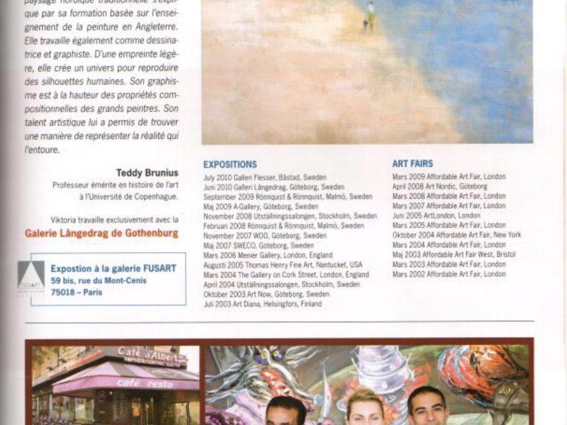 Exposition – galerie de FUSART, Paris